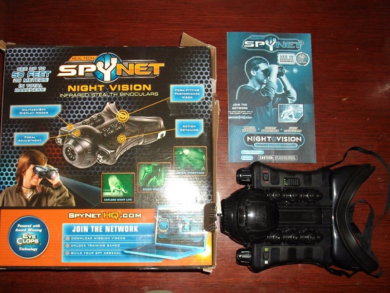Eyeclops Night Vision Goggles Packaging